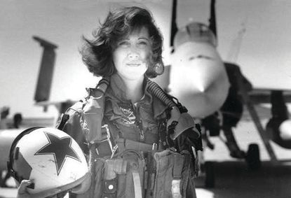Tammie Jo Shults is photographed in the early 1990s.