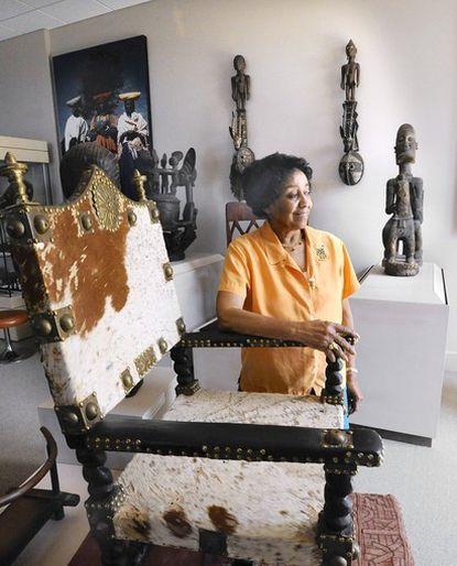 African Art Museum of Maryland Director Doris Ligon says she has studied African Art for more than 38 years.