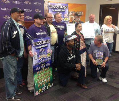 Maryland Lottery winners.