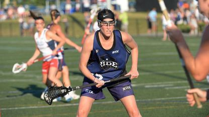 McDonogh School and Duke alum Taylor Virden plays for the Baltimore Ride of the United Women's Lacrosse League.