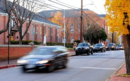 A permanent speed camera will soon be a fixture along Duke of Gloucester Street in Annapolis, in front of St. Mary's school.