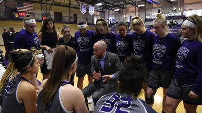 Chatham University women's coach David Saur, a Sykesville native, has the Cougars competing for one of the higher seeds in next month's Presidents' Athletic Conference tournament. Chatham is 10-11 in Saur's first year as coach after going 5-20 last season.