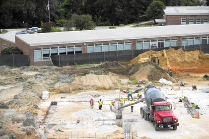 Construction is underway on the Westowne Elementary School campus for a new, larger school building that is scheduled to openfor the fall of 2016. The construction project for a new Catonsville Elementary School is also underway as are plans for a new Relay Elementary School.