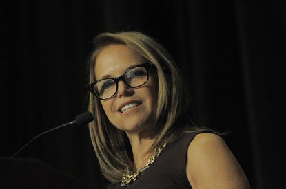 Katie Couric honored at Hopkins health event