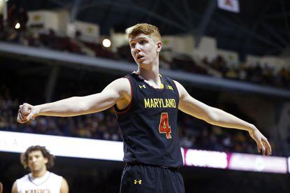 Terps' Huerter a second-generation NCAA tourney participant