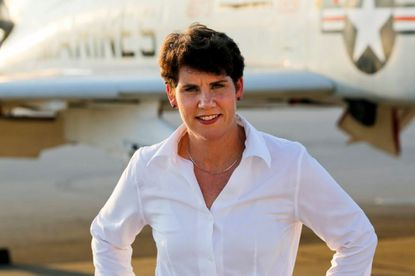 Amy McGrath, Naval Academy graduate, running against McConnell in Kentucky