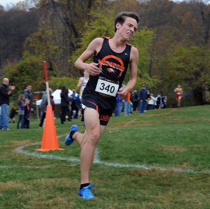 McDonogh's Dalton Hengst placed third in the 2014 MIAA Cross Country Championship and won the 2015 event.
