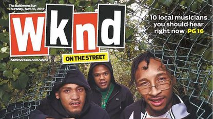 A look at the first cover of Wknd on the Street