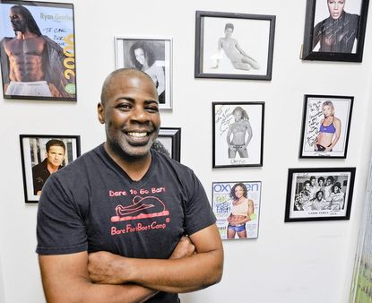 Carl Powell, Laurel's fitness ambassador, has helped train well-known models.