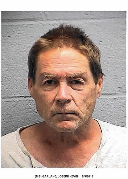 """Joseph Kevin Garlandwas arrested August 9after he allegedly threatened to kill a woman. <a href=""""http://www.carrollcountytimes.com/news/crime/ph-cc-garland-joseph-second-degree-assault-20160811-story.html"""" target=""""_blank"""">Full story here</a>."""