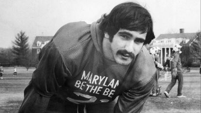 Frank Urso, who helped Maryland win the 1973 and 1975 national lacrosse championships, is pictured in January 1976.