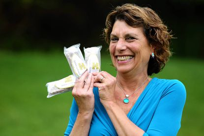 Cathy Shapiro holds some of the Java Ice Pops she makes to sell at area farmers markets. The Pikesville resident is part of a new breed of vendors selling a variety of products at the markets.