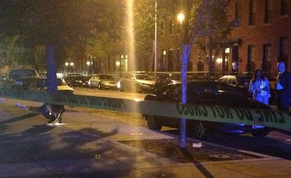 Seven shot in West Baltimore, teenager killed