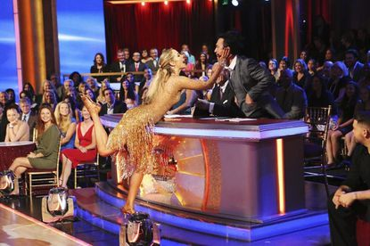 Elizabeth Berkley Lauren and Bruno Tonioli