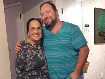 Jason McIntire, pictured, with his grandmother Marquita McIntire, had been incarcerated at Central Maryland Correctional Facility in Sykesville and died at 43 after contracting COVID-19.