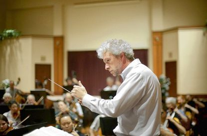"""Music director Jason Love observes his 15th anniversary leading the Columbia Orchestra with a program called """"The Maestro's Anniversary"""" on Saturday, Dec. 7, at 7:30 p.m. at Jim Rouse Theatre at Wilde Lake High School."""