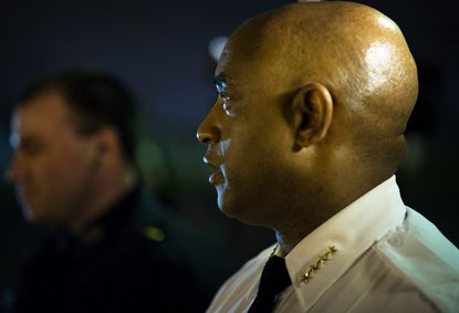 Baltimore Police Commissioner Anthony W. Batts is shown in a file photo.