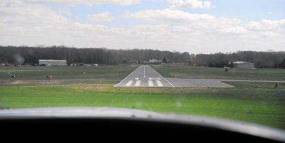 County agenies are reviewing plans to expand the Harford County Airport near Churchville, as residents appeal a recent zoning approval for the project to the Circuit Court.