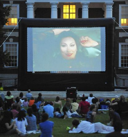 Baltimore's outdoor summer film series overflow with personality
