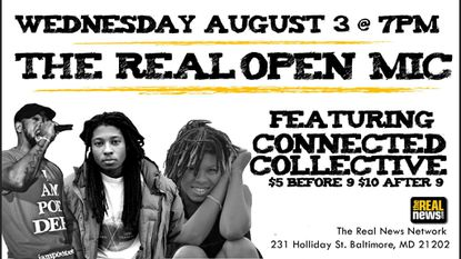 Wednesday: The Real Open Mic