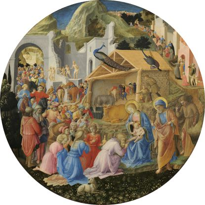 Putting The 'High' in High Art: 'The Adoration of the Magi' by Fra Angelico and Fra Filippo Lippi