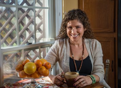 Julie Reisler once struggled with emotional eating but now teaches courses on nutrition, fitness and meditation as a certified health and wellness coach.