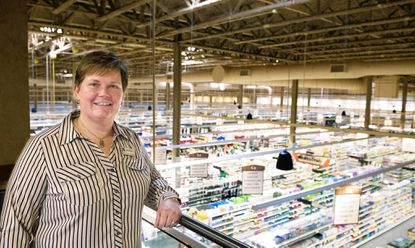 Wendy Webster, general manager of the new Wegmans in Columbia, which opens June 17.