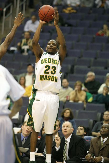 Laurel High graduate John Vaughn was on the 2006 George Mason University team that went to the NCAA tournament's Final Four, but he couldn't play in the tournament because he tore his ACL.
