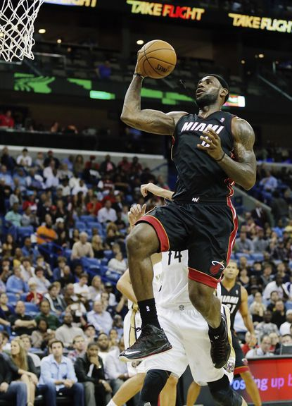 Heat the team to beat in NBA's Eastern Conference