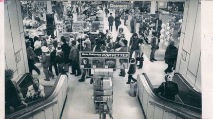 E. J. Korvette came to Baltimore in the 1960s and offered discount records, to the delight of shoppers.