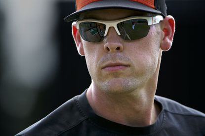 Matt Wieters was given a nine-month recovery time after elbow surgery, and he plans to first throw in a game nine months from the day of that operation.