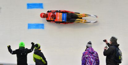 Germany's Tobias Wendl and Tobias Arlt in action. (Martin Schutt/EPA Photo)