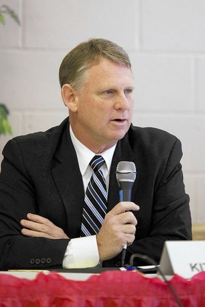 """Sen. Allan Kittleman was cautious about raising the minimum wage, expected to be a hot topic this session. """"I think that we have to be careful about some of the unintended consequences,"""" he said, noting that many minimum-wage earners are young people getting job experience."""
