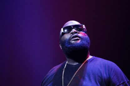 Rick Ross performs live at Nokia Theatre L.A. in January
