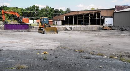 Demolition has been completed of oldest part of a former cleaning products manufacturing plant in Havre de Grace. The property, owned by Sherwin-Wiliams, is being put up for sale, a company spokesperson said.