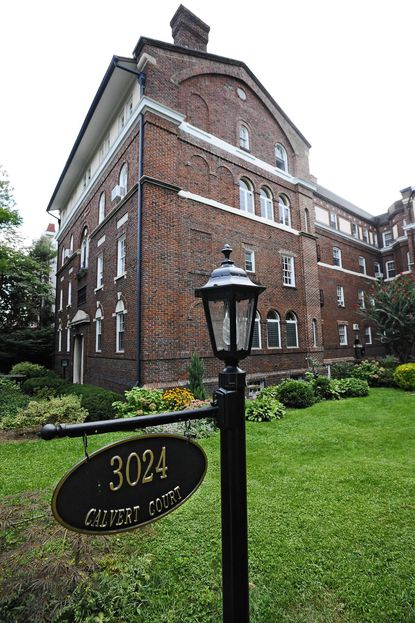 The Calvert Court designed by architect Edward H. Glidden, at 3024 N. Calvert St., will be turning 100 in 2015.