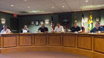 The Town of Hampstead Mayor and Council are pictured in this file photo.