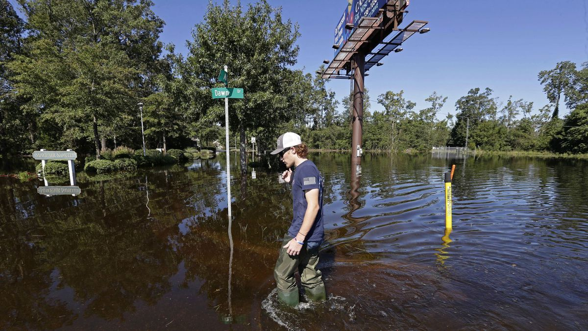Hurricane Florence flooding in North Carolina concerns Lumbee Indian