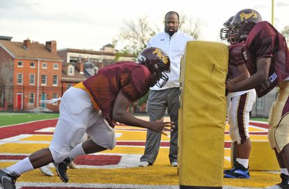 Dunbar football coach Lawrence Smith returned to the practice field a week ago.