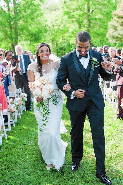 Brittany Coughlan and Kevin Fitzpatrick were married at Belmont Manor in Elkridge.