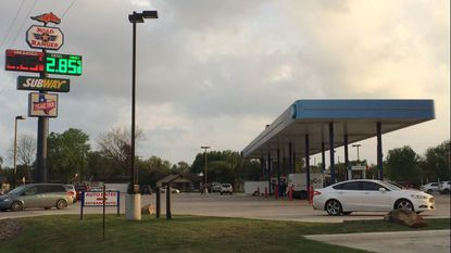 Texas Gas Station where Keith and Valeria Smith were arrested