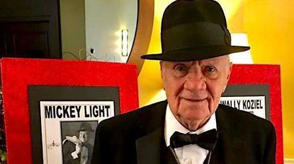 """Mickey Light said developing his Frank Sinatra impersonation was """"the best thing that ever happened to me."""""""