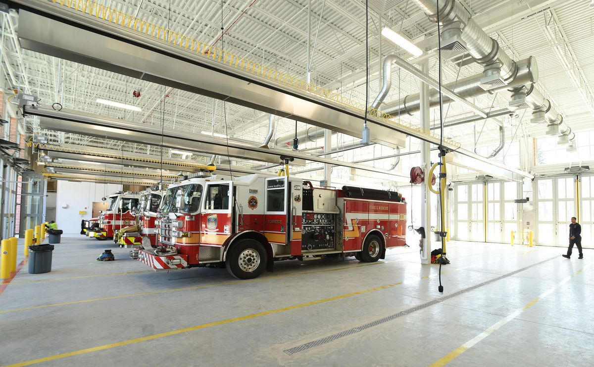 Elkridge fire station opens with room to grow - Baltimore Sun
