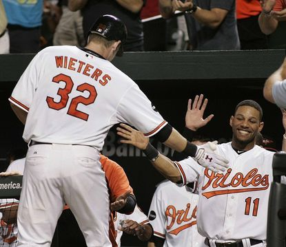 Catcher Matt Wieters said he would not hold a grudge after the Orioles unilaterally renewed his contract on Saturday.