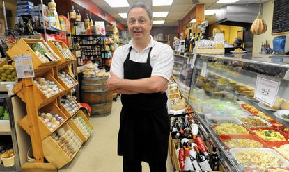Joe DiPasquale, owner of DiPasquale's Italian Marketplace, which is celebrating 100 years in Highlandtown.