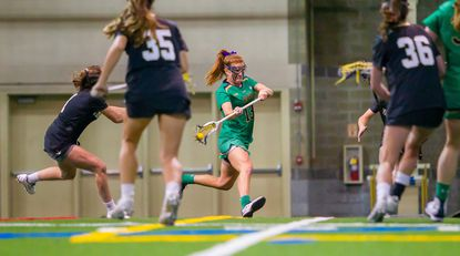 Notre Dame's Andie Aldave was named the Atlantic Coast Conference's Offensive Player of the Week.