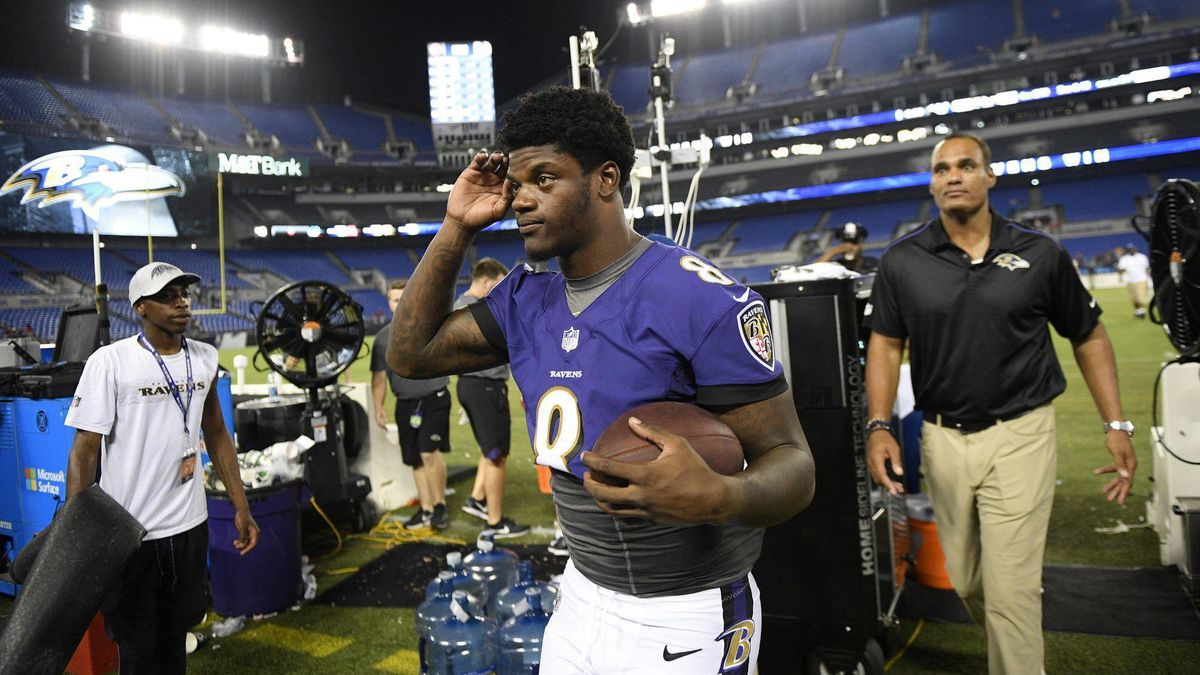 info for 7ff85 53a80 Ravens rookie Lamar Jackson enters NFL with a lifelong will ...