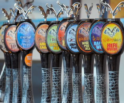 An assortment of Flying Dog beers will be sold at M&T Bank Stadium this football season.