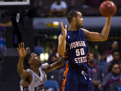 Morgan State's Ian Chiles looks for a chance to prove he can play in the NBA