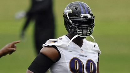 Despite ankle injury, Ravens' Chris Canty active Sunday against Texans